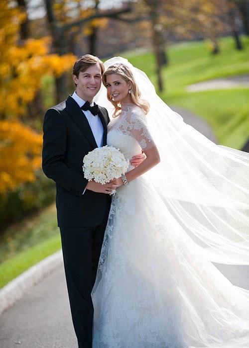 Váy cưới đẹp nhất mọi thời đại - Váy cưới của Ivanka Trump