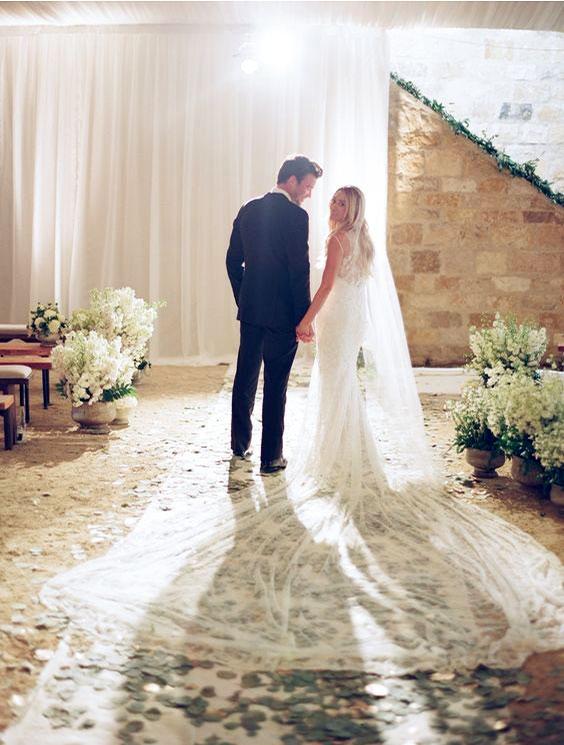 Váy cưới đẹp nhất mọi thời đại - Váy cưới của Lauren Conrad