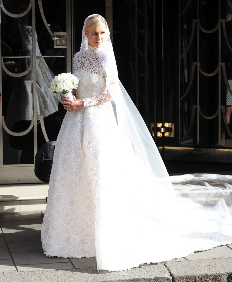 Váy cưới đẹp nhất mọi thời đại - Váy cưới của Nicky Hilton