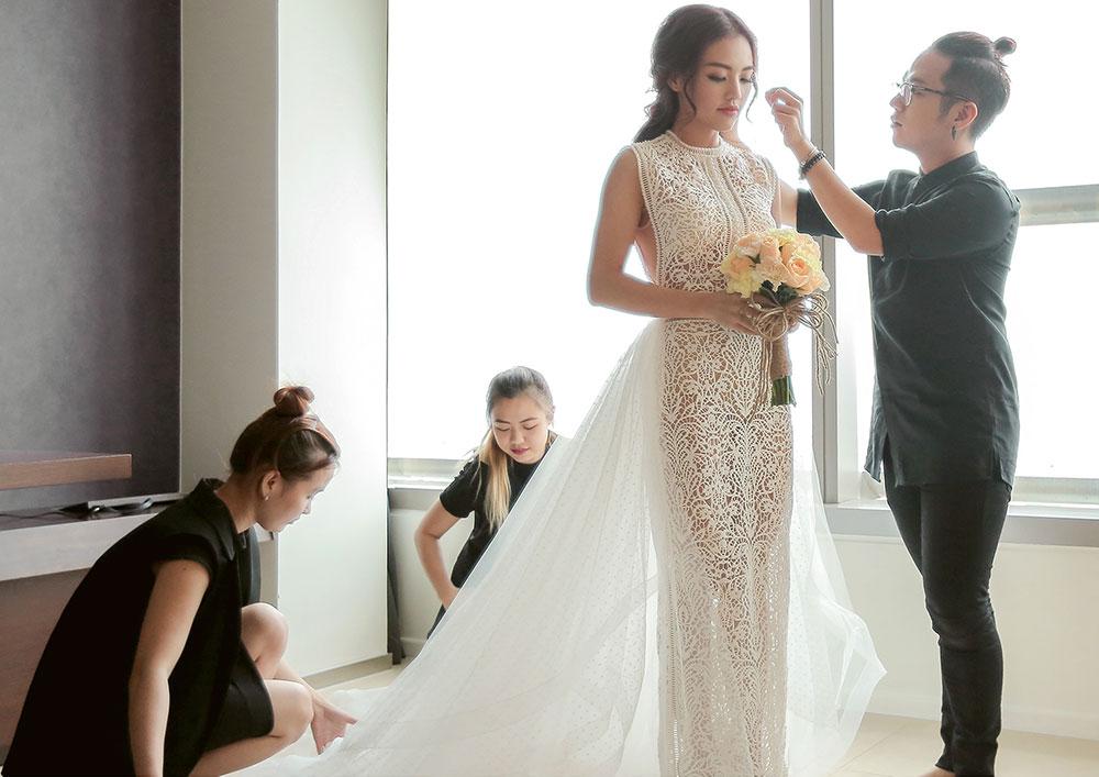 Những bộ váy cưới đẹp nhất Việt Nam - Linh Phi