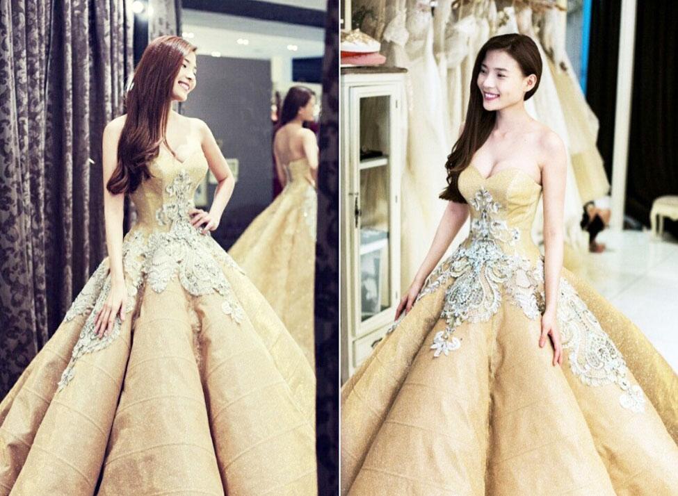 Những bộ váy cưới đẹp nhất Việt Nam - Thúy Diêm